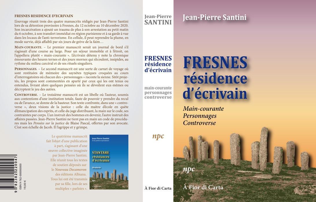 Couv fresnes residence d ecrivain
